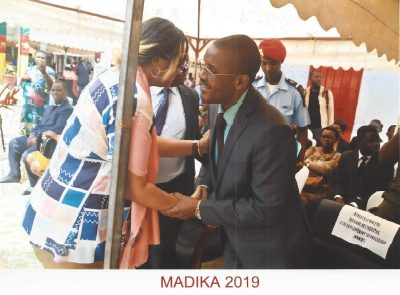 The President of MADIKA-EIG- congratulated by MINMIDT